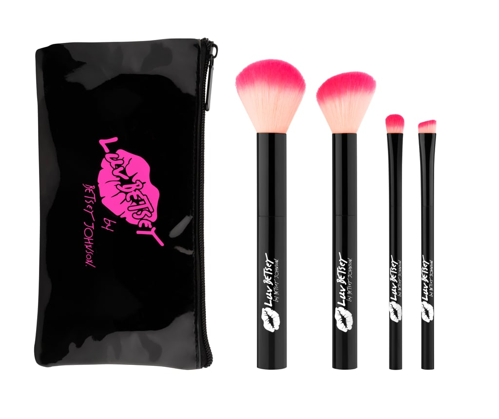 Luv Betsey by Betsey Johnson Brush Kit With Cosmetic Bag