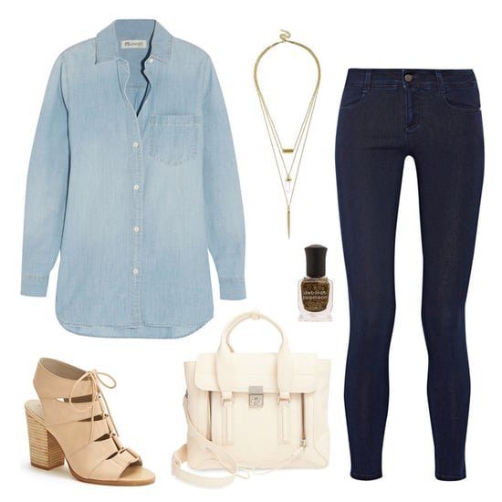 How to Wear the Denim on Denim Trend