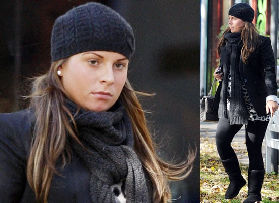 Pregnant Coleen Rooney Out In The Autumn Leaves