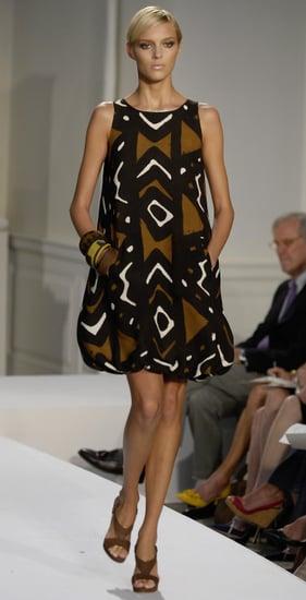 The Look For Less: Oscar de la Renta African Print Dress