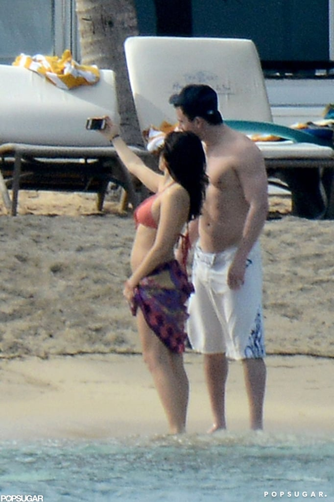 Jenna Dewan and Channing Tatum snapped pictures on their vacation.