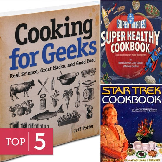 5 Geeky Cookbooks For Getting Your Nom On