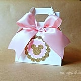Minnie Mouse Birthday Party Favor Boxes