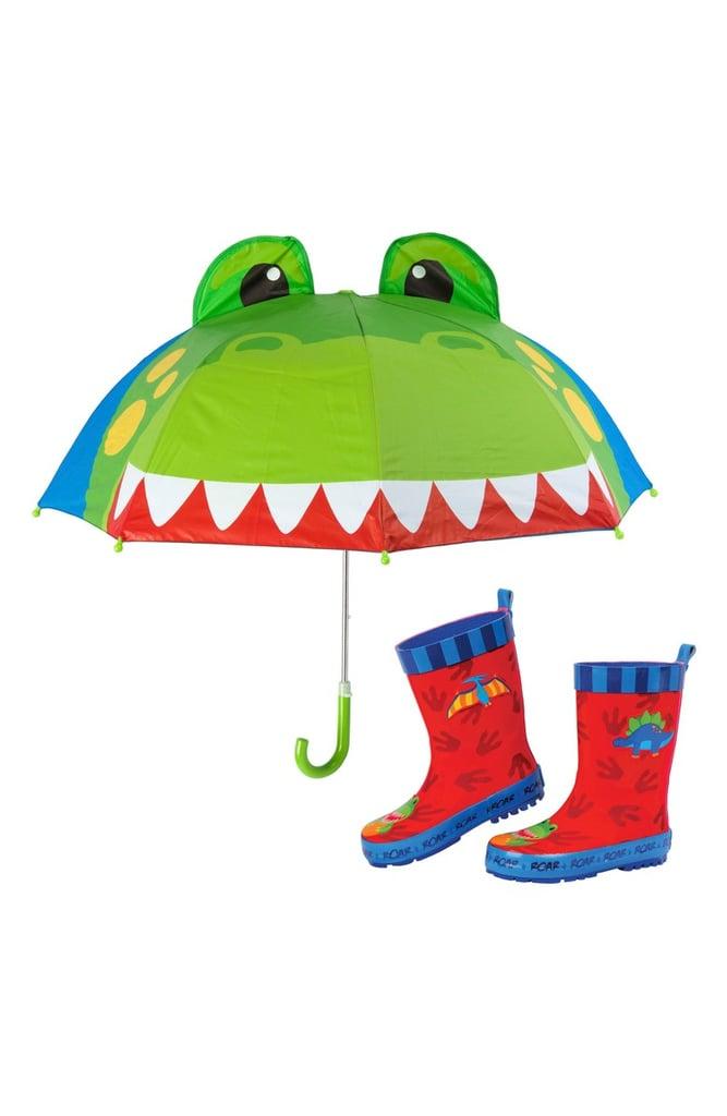 Dinosaur Umbrella & Rain Boots