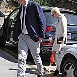 Jason Segel and Michelle Williams took Matilda out in LA.