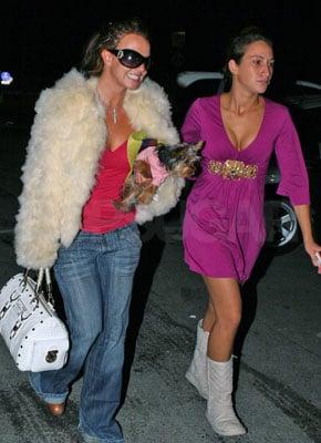 Britney Is Still Being Britney