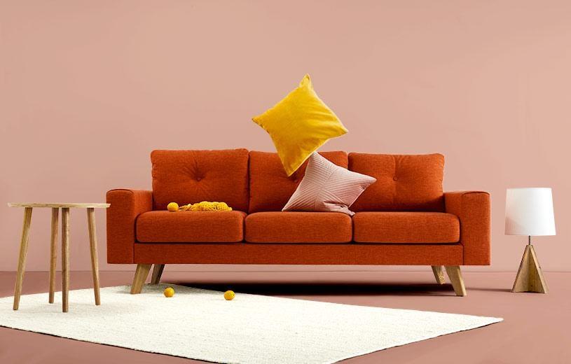 Inside Weather Pebble Weave Levi Sofa