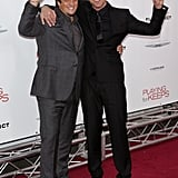 Gerard Butler and Gabriele Muccino attended the Playing For Keeps premiere in NYC.
