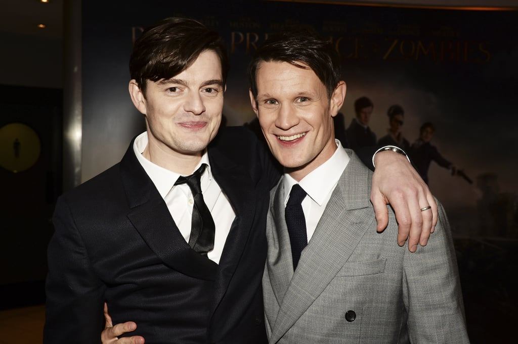 With Sam Riley