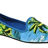 Wear these tropic-printed loafers with white denim and prepare to make a serious Summertime statement. ASOS Leon Slipper Shoes With Tropical Print ($28)