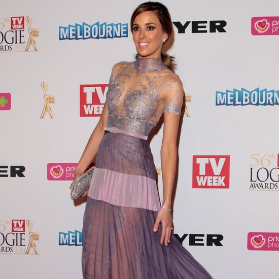 Rebecca Judd at the 2014 Logie Awards Wearing J'Aton Couture