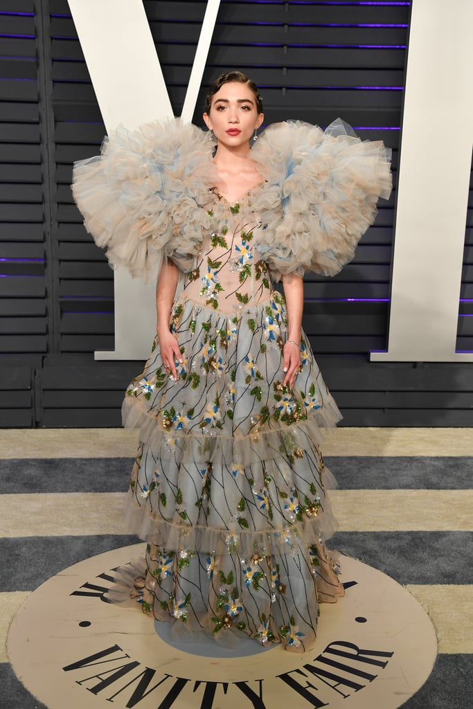 Rowan Blanchard at the 2019 Vanity Fair Oscars Party