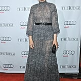 Vera Farmiga worked the red carpet at The Judge's premiere.