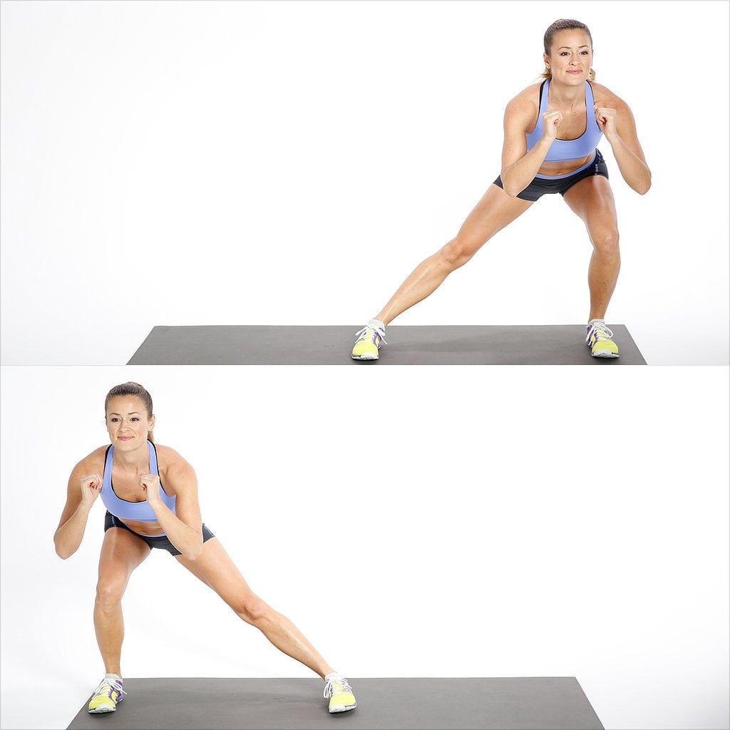 Tabata Three: Alternating Side Lunge