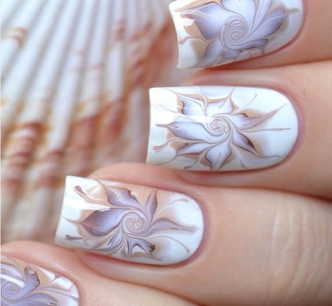 Marble Nail Art: Marble Nail Art Tutorials From Instagram