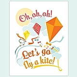 This kite art print ($28) is a reminder that the season is meant to be spent outdoors.