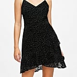 Leopard Velvet Mini Dress