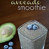 Blueberry Avocado Kale Smoothie