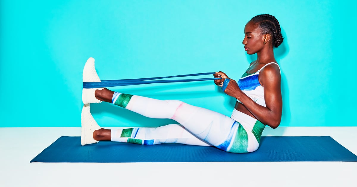 This 20-Minute Full-Body Resistance-Band Stretch Gets Into Every Nook and Cranny