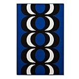 Kaivo print outdoor rug in blue ($80)