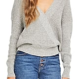 ASTR the Label Stephanie Surplice Sweater