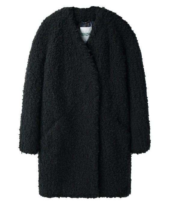 This cozy Kenzo Faux Fur Coat ($837) was made for looking pulled together on even the chilliest of Winter days.