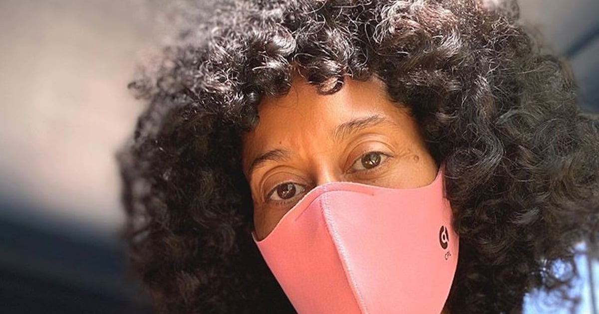 Tory Burch Started the #WearADamnMask Challenge — Tracee Ellis Ross Is 1 of Many Who've Accepted