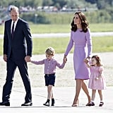 Kate and Will brought along their kids for their royal tour in Germany.