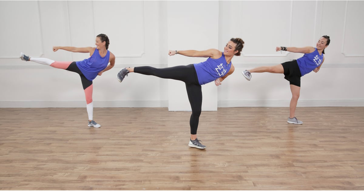This BodyCombat Workout Knocks Out the Calories With Boxing, Kung Fu, and Muay Thai