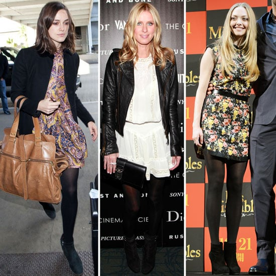 How to Wear Your Summer Dresses in Winter 2012