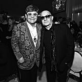 Pictured: Elton John and Bernie Taupin