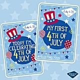 Milestone Cards Fourth of July Printable