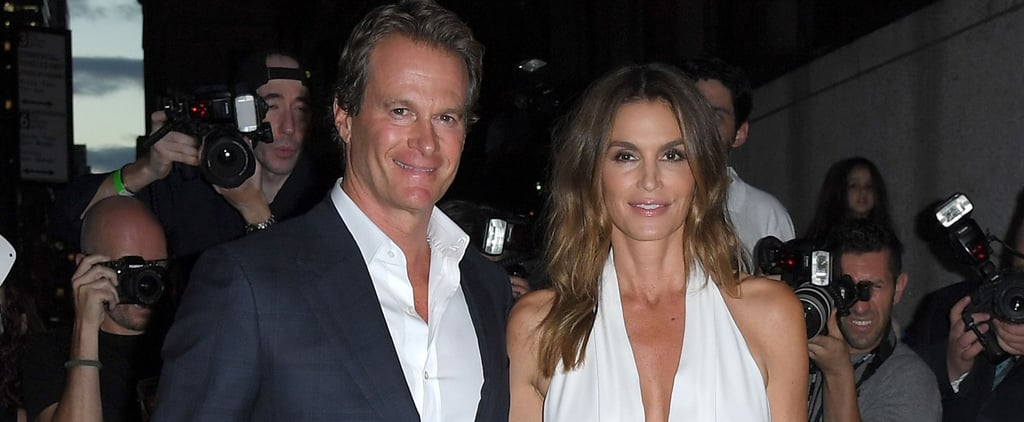 Cindy Crawford Steals the Spotlight Away From Rande Gerber at NYFW