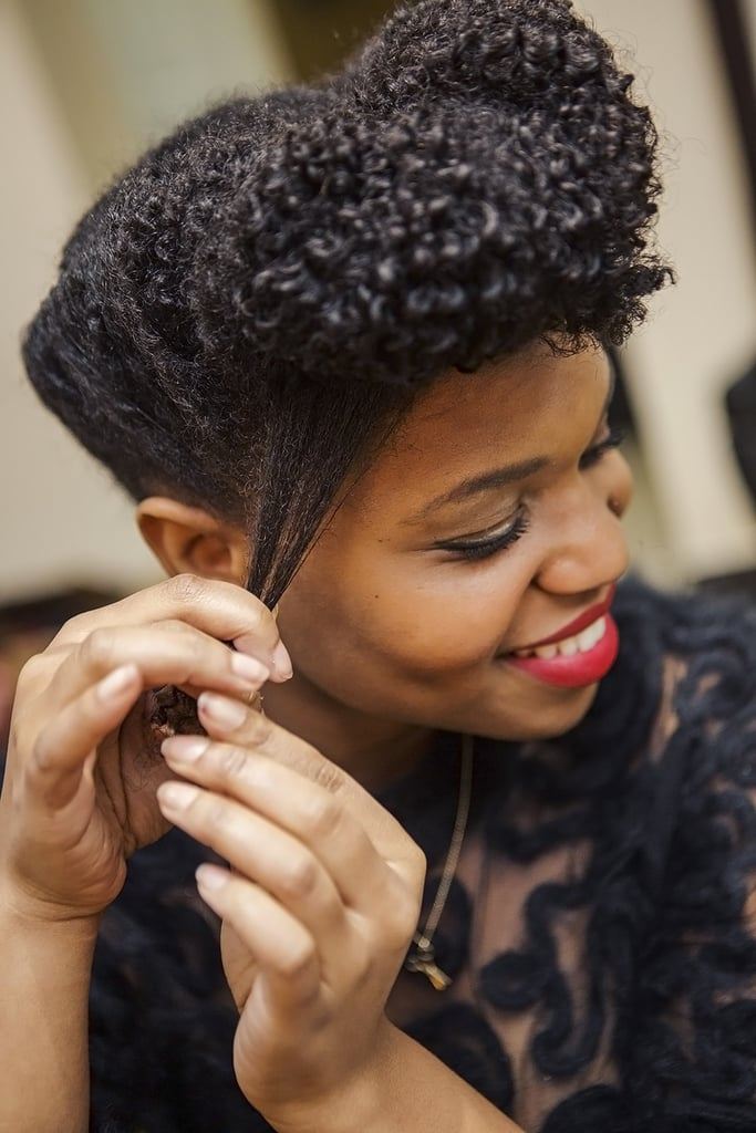 Updos for natural hair popsugar beauty pmusecretfo Image collections