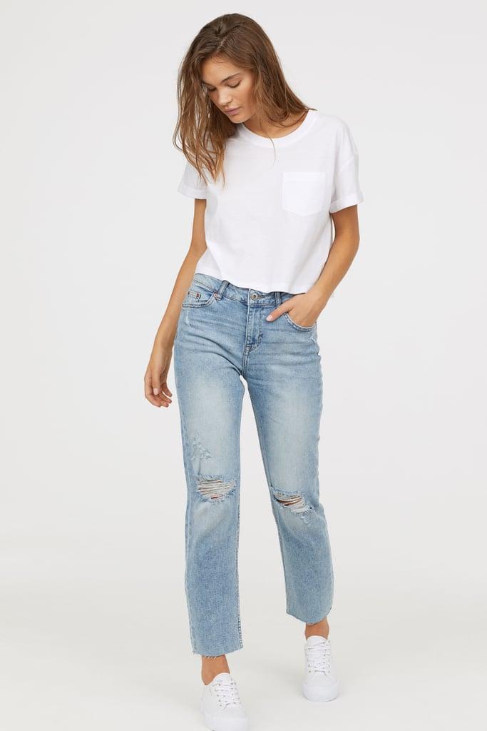 293406ccc0d2 Girlfriend Regular Jeans