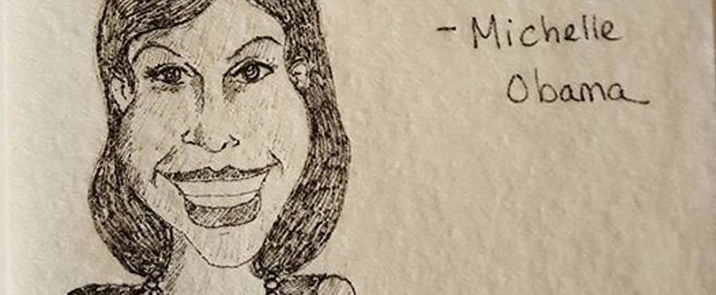 Mom's Empowering Napkin Art For Daughter After Election