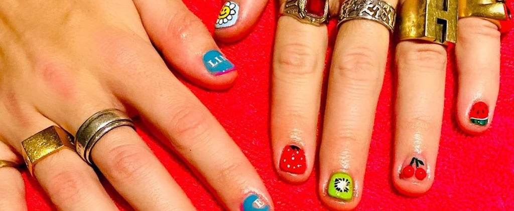 Harry Styles Fine Line Nail Art —See the Photo