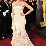 Cameron Diaz picked a Gucci gown at the 2012 Oscars.