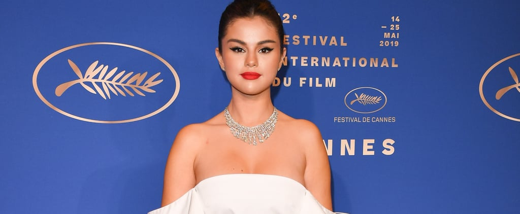 Selena Gomez Wears White Dress at Cannes Film Festival 2019