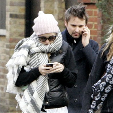 Kate Hudson and Matthew Bellamy Meet With Their Trainer