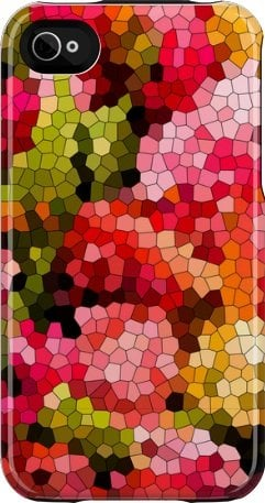 Spring Mosaic iPhone case ($40)