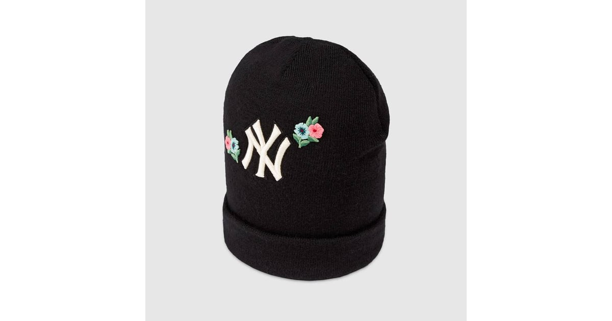 Gucci Wool Hat With NY Yankees Patch  f75f81f5fe1