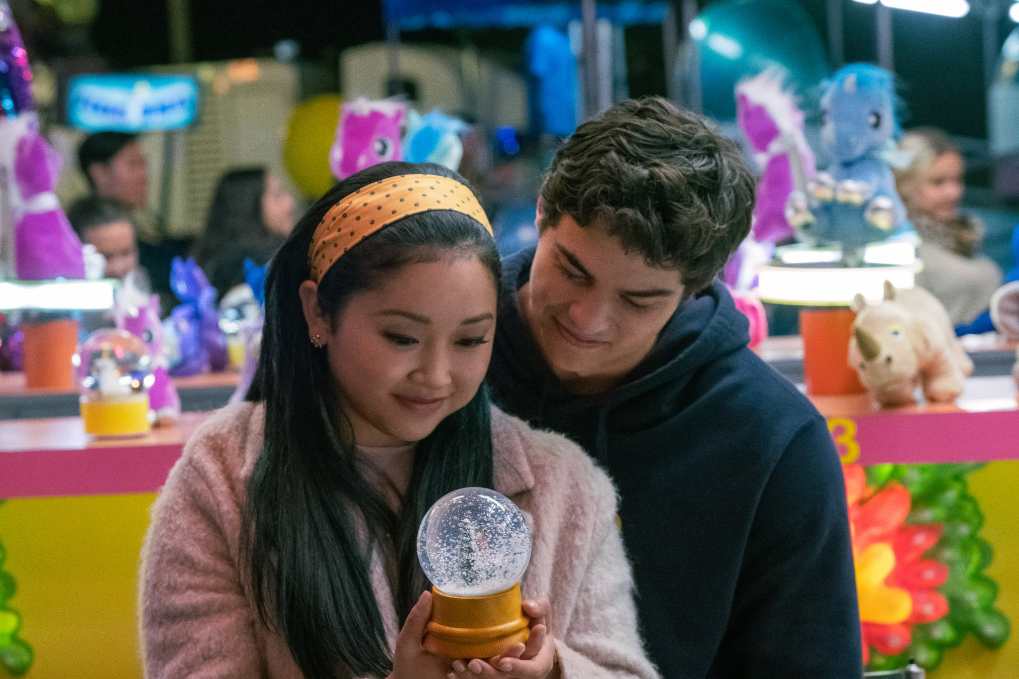 TO ALL THE BOYS IVE LOVED BEFORE 3.  Lana Condor as Lara Jean Covey, Noah Centineo as Peter Kavinsky, in TO ALL THE BOYS IVE LOVED BEFORE 3. Cr. Katie Yu / Netflix © 2020