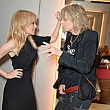 Kylie Minogue and Chrissie Hynde