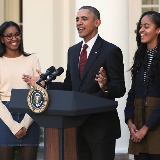 Barack Obama Imitating Daughters Texting Video