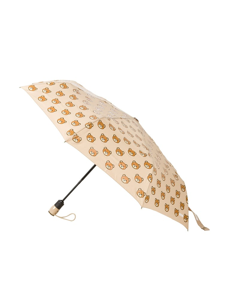 Improve all her rainy days with Moschino's quirky Bear Print Umbrella ($139).