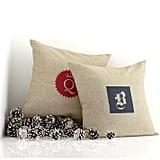 Mark and Graham Natural Chambray Pillow