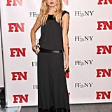 Rachel Zoe looked effortlessly chic in a flowing black dress.