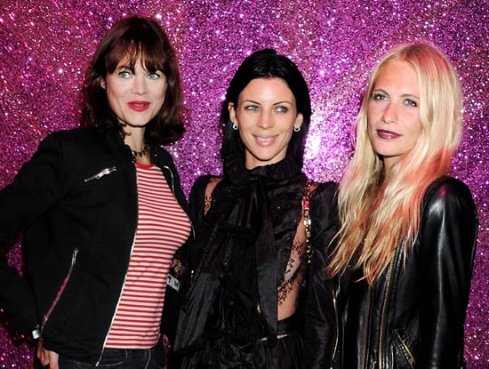 Jasmine Guinness, Liberty Ross and Poppy Delevingne