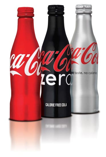 Coca Cola's Aluminum Bottles Make Teetotalism Cool